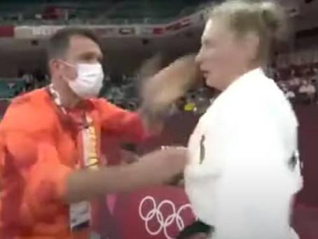 Martyna Trajdos es cacheteada por su entrenador y se enciende la polémica