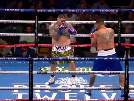 Pelea en gradas opaca combate de Andy Ruiz contra Chris Arreola