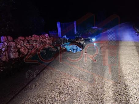 Joven motociclista perdió la vida tras derrapar