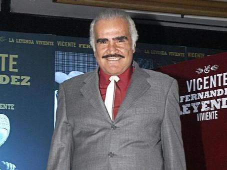 Vicente Fernández presenta su nuevo disco 'A Mis 80s'