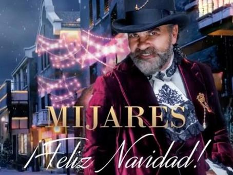 Mijares comparte Popurrí navideño de canciones americanas