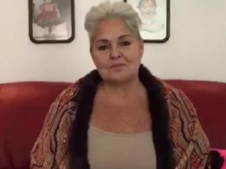 Lupita D'Alessio reacciona a la agresión contra su hijo César