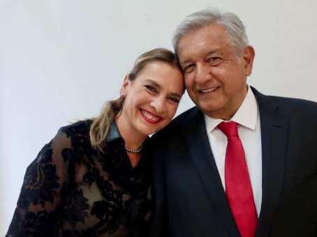 """Beatriz Gutiérrez explicó a AMLO el significado de """"romper el pacto"""" con Salgado Macedonio"""
