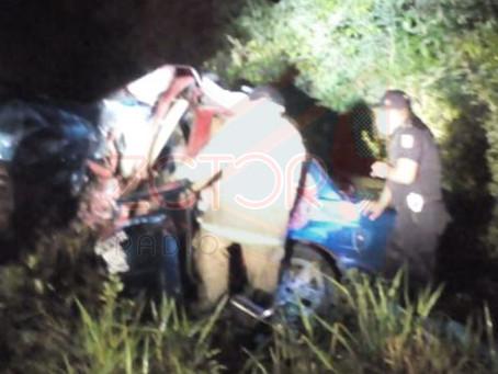 Tragedía: Fallece taxista prensado tras impacto