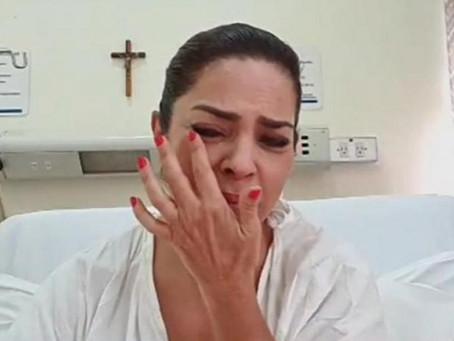 Ana María Alvarado es hospitalizada tras dar positivo a Covid-19