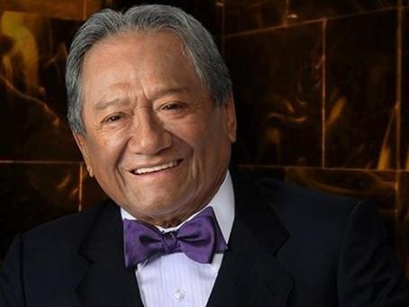 Carlos Cuevas revela que Armando Manzanero no está intubado por Covid-19