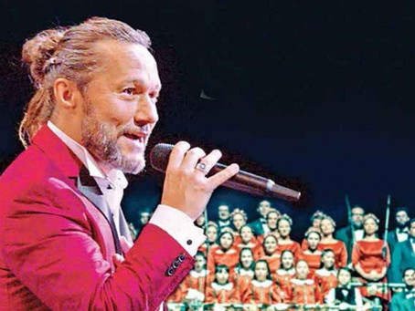 Diego Torres hace show sinfónico
