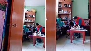 """Mujer pide a su perrito desahuciado que rece para curarse: """"Él te escucha"""" (VIDEO)"""