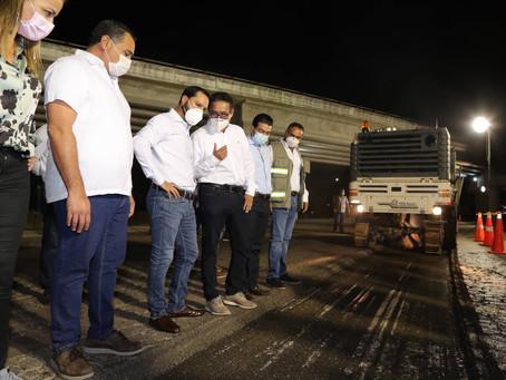 Ponen en marcha los trabajos de repavimentación del Anillo Periférico de Mérida