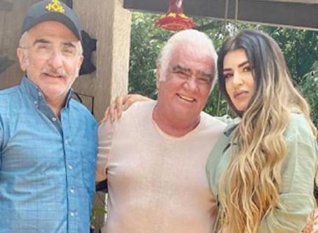 Se burlan de Vicente Fernández por caer atónito ante la belleza de su nuera