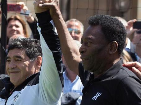 Pelé recuerda a Maradona a una semana de su muerte