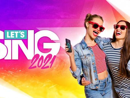 'Let's Sing 2021'; entretenido y divertido para la fiesta