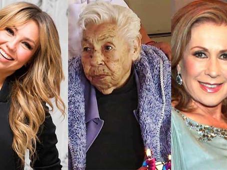 Abuela de Thalía se encuentra en delicado estado de salud