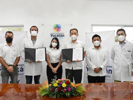 Yucatán une esfuerzos con Japón para brindar una mayor y mejor atención médica a los yucatecos