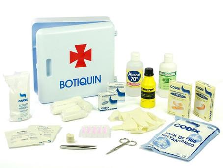 Estos son los productos que debes tener en un botiquín de primeros auxilios