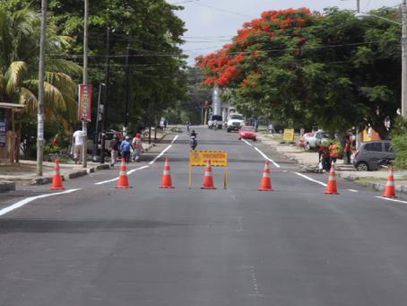 Juntos seguimos dotando de infraestructura urbana al municipio, señaló Renán Barrera