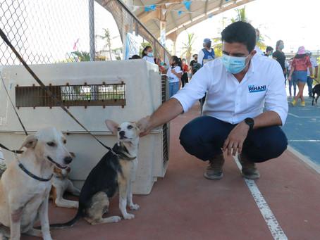 Erik Rihani refrenda su compromiso con el cuidado de los animales