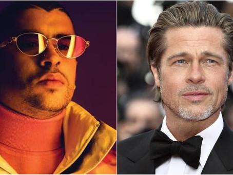 Bad Bunny actuará junto a Brad Pitt