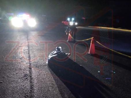 Ciclista septuagenario perdio la vida en accidente
