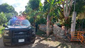 Joven de 18 años hiere tres integrantes de una familia en Yaxcabá