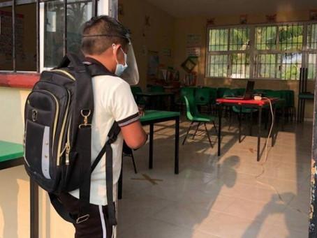 Campeche: ¿Cuántas escuelas ya están en clases presenciales?