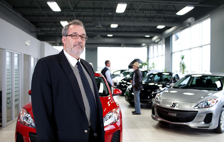 Luc Loignon, Directeur - Levis Mazda