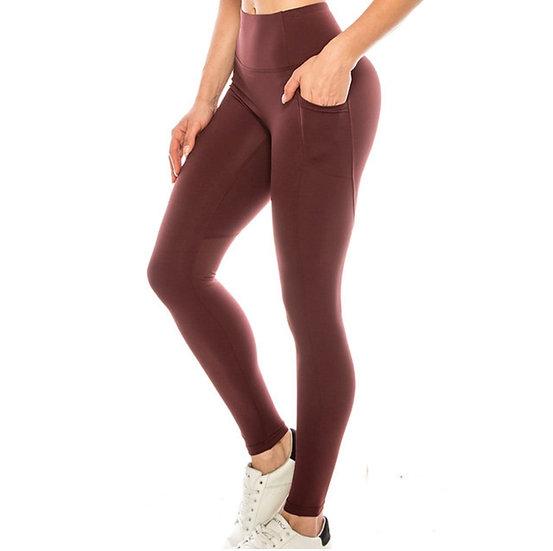 Premium Solid Active Leggings