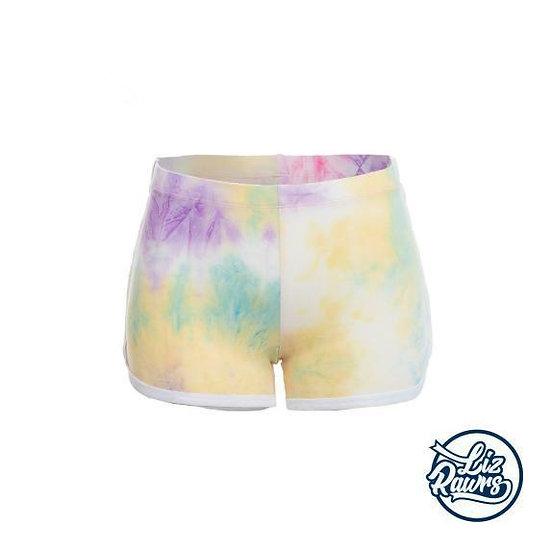 Lover Tye Die Booty Shorts