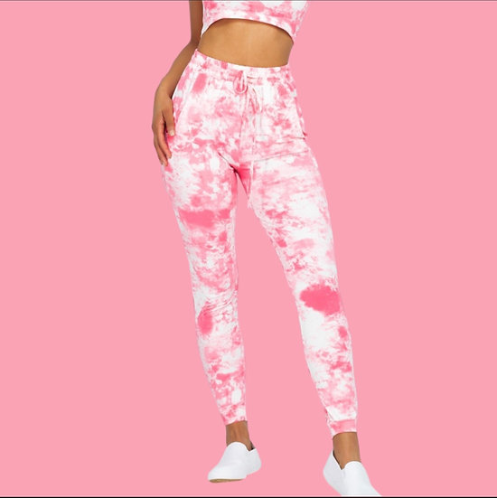 Ultra Soft Acid Tie Dye Jogger Pants