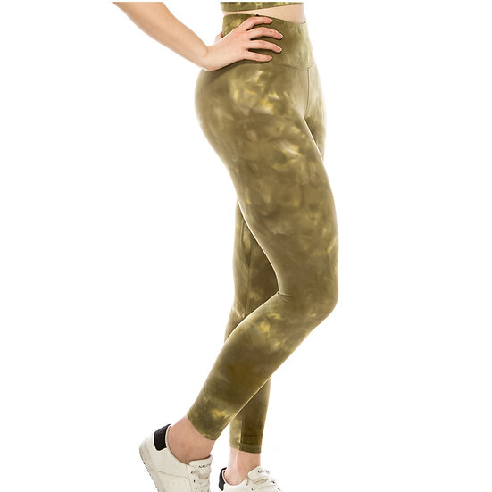 Premium Tie Dye Active Leggings