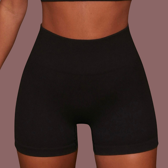 Americano- Ribbed Active Shorts