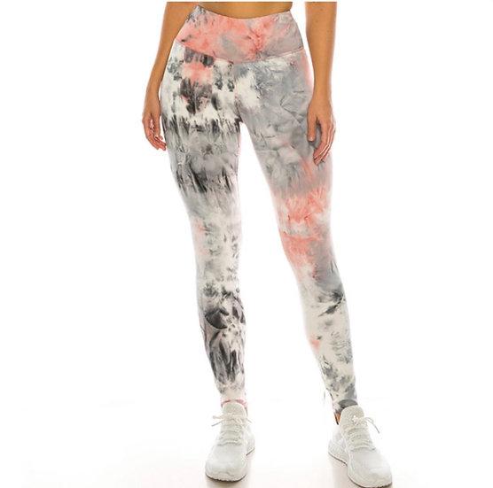 Tie Dye Premium Active Leggings