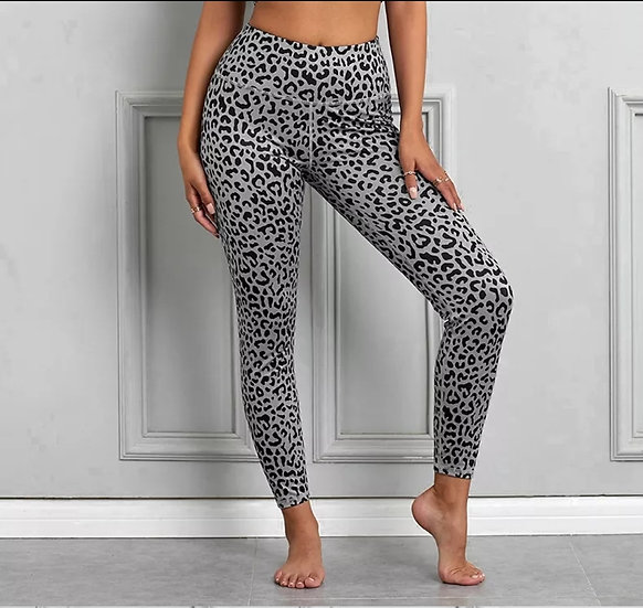 Premium Leopard Print Active Leggings