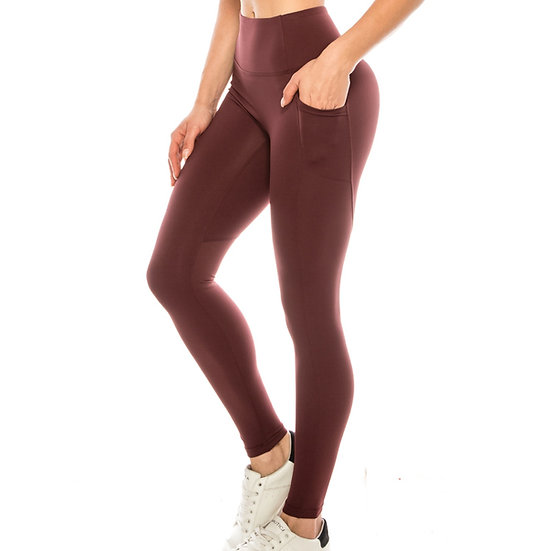 Premium Solid Active Leggings