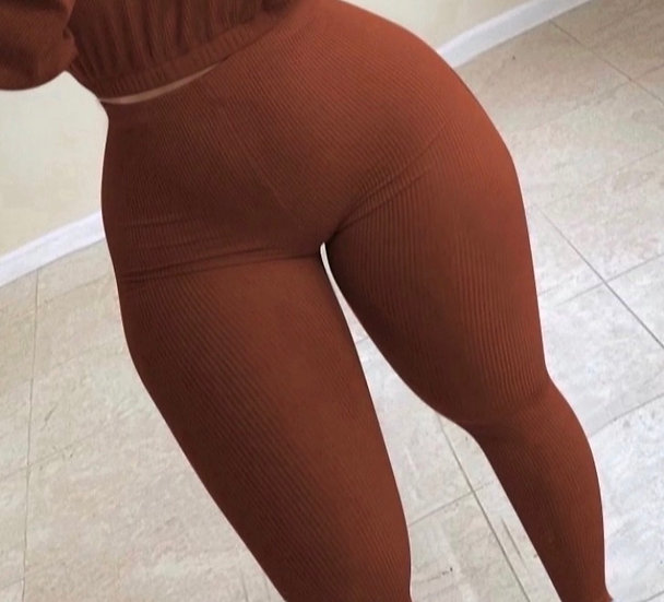 Ribbed Lounge Bottoms