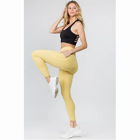 High Waist Tech Pocket Workout Leggings