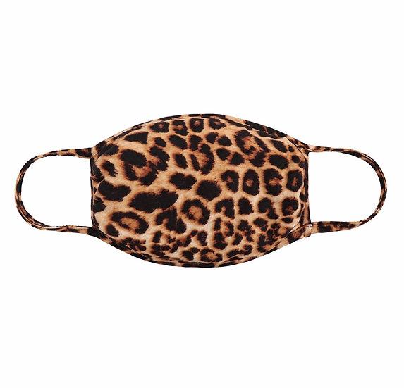 Leopard Print Reusable Mask