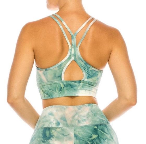 Tie Dye Premium Active Top