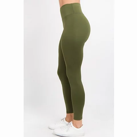 Ultra Soft  Active Wear Leggings w/ Hidden Waistband Pocket