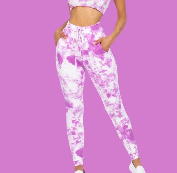 Ultra Soft Acid Tie Dye Jogger Pants