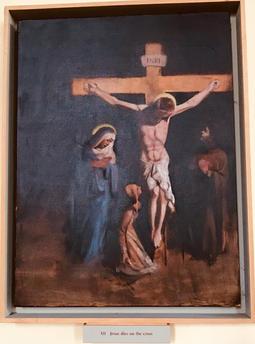 12th Station: Jesus dies on the cross