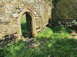Ancient doorway in Kilmacadane Abbey