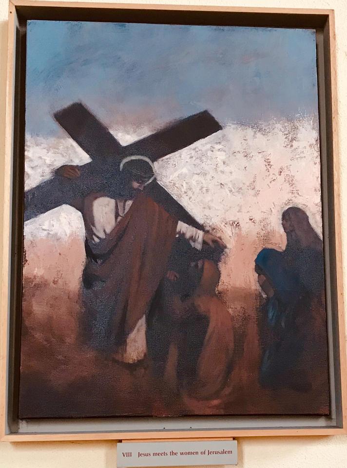 8th Station: Jesus meets the women of Jerusalem