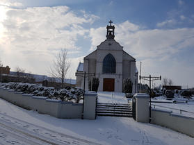 Snow Covered Church March 2018
