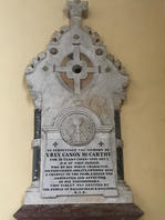 Plaque of Canon McCarthy