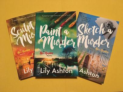 Alice Haydon Mysteries (3 Book Series).J