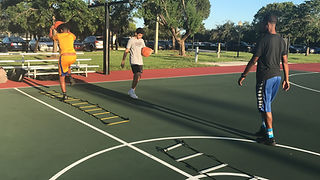 next step trainin basketball practice in weston florida