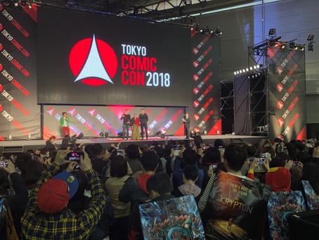 TOKYO COMIC CON 2018  出演!
