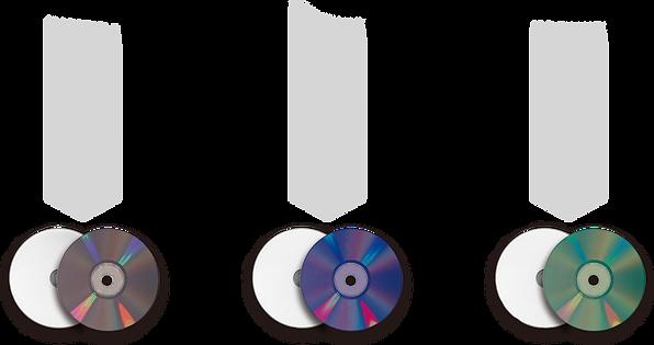 DVD DVD-R BD BD-R Blu-ray CD CD-R