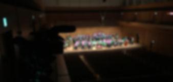 吹奏楽の定期演奏会、ステージのビデオ撮影は埼玉県の光洋、東京、DVD、BD制作